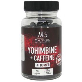 Magnus Supplements - Yohimbine Caffeine 90 kapsúl
