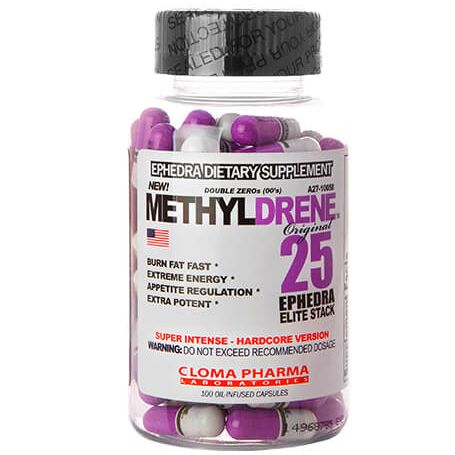Cloma Pharma - Methyldrene 25 100 caps