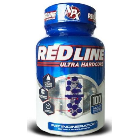 VPX - Redline Ultra Hardcore 100caps