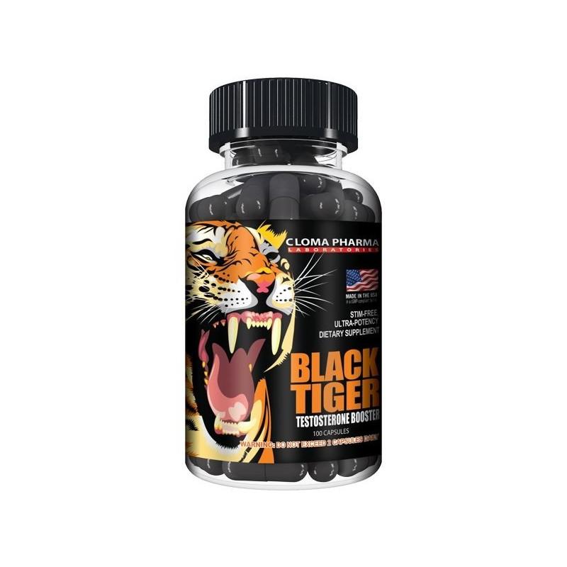 Cloma Pharma- Black Tiger 100cps