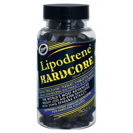 Hi -Tech Pharmaceuticals - Lipodrene Hardcore 90 tab