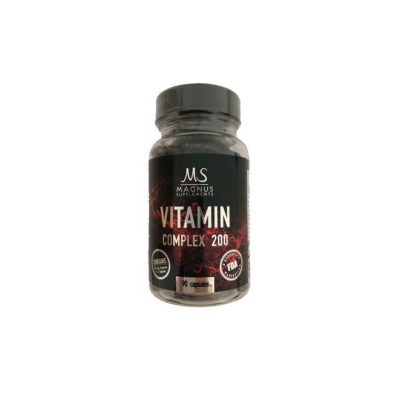 Magnus Supplements - Vitamin Complex 200 - 90cps