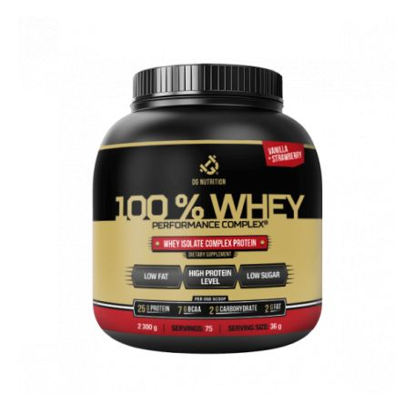 DG Nutrition -  100% WHEY Performance Complex 2250g