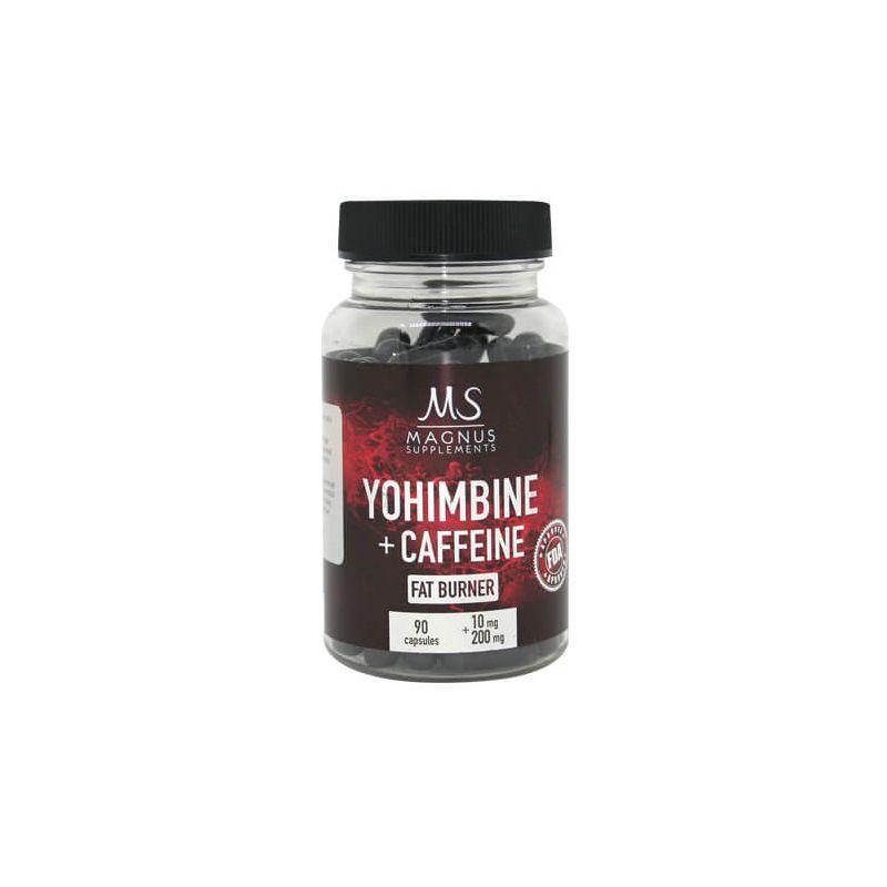 Magnus Supplements - 2ks Yohimbine Caffeine 90 kapsúl