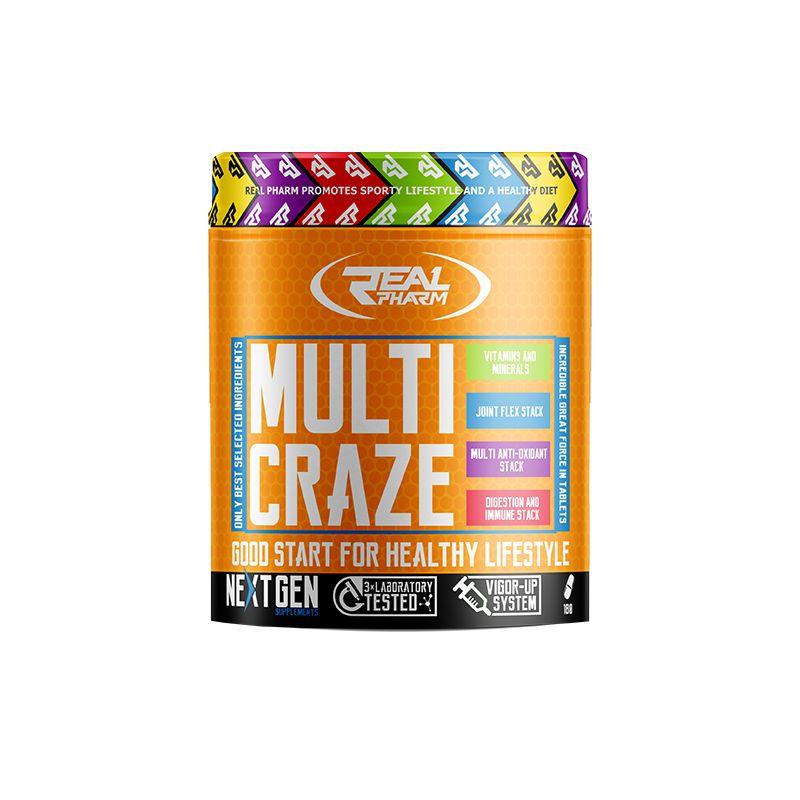 Real Pharm - Multi Craze 270 tabliet