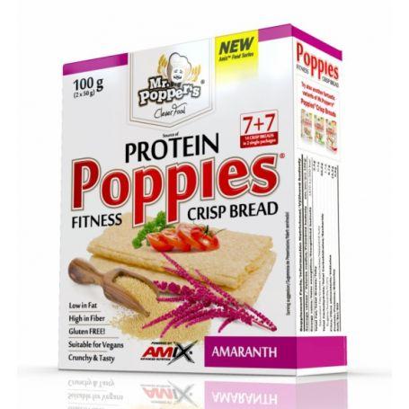 Amix - Poppies CrispBread Protein 100g