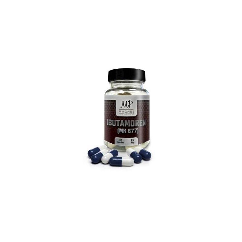 Ibutamoren - MK677 GH+ Magnus Pharmaceuticals 30 kapsúl