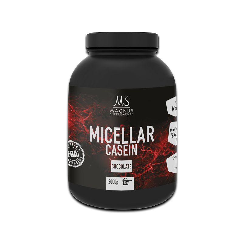 Magnus Supplements - 100% MICELLAR CASEIN 2000g