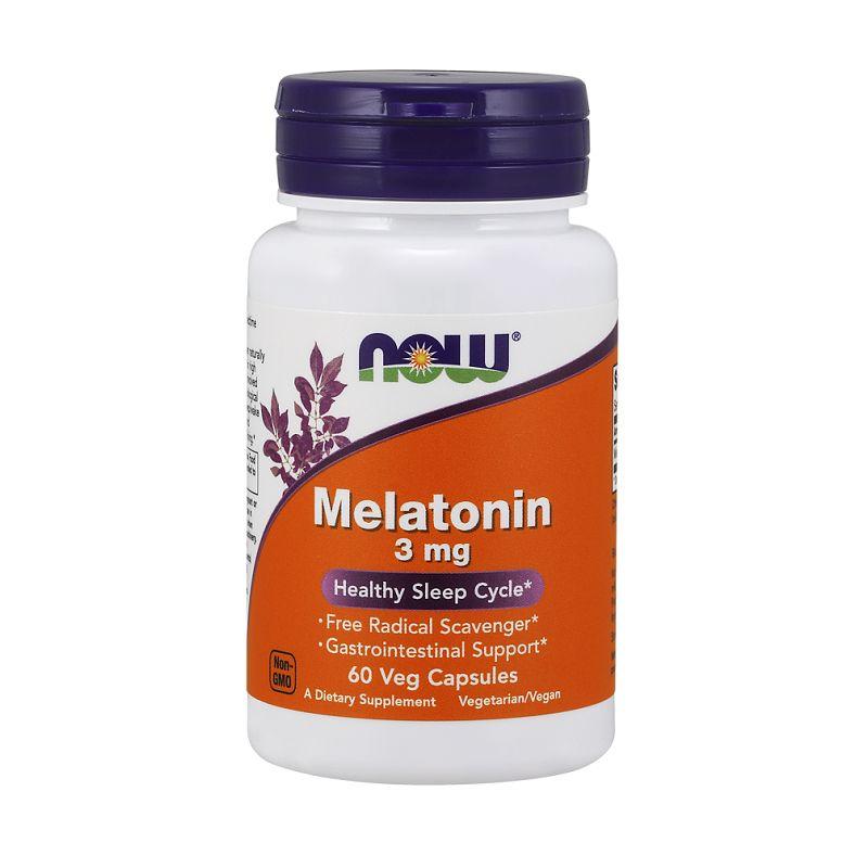 Now - Melatonin (3mg) 60 kapsúl