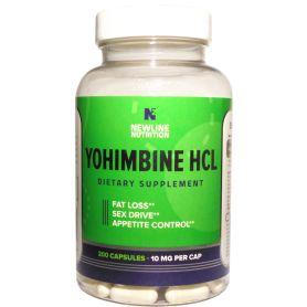 Newline Nutrition - Yohimbine (10mg) 200 kapsúl
