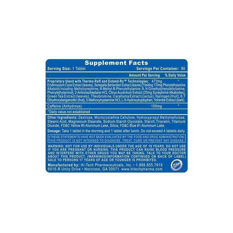 Hi -Tech Pharmaceuticals - Lipodrene Elite 90 tabliet