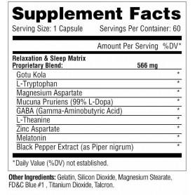 Metabolic Nutrition - Relaxitrol 60 caps
