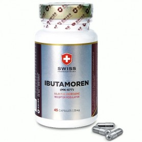 Swiss Pharmaceuticals - Ibutamoren 45 kapsúl