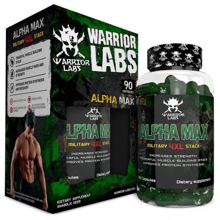 Warrior Labs - Alpha Max 90 kapsúl