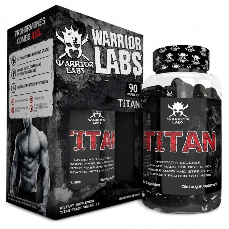 Warrior Labs - Titan 3.0 90 kapsúl