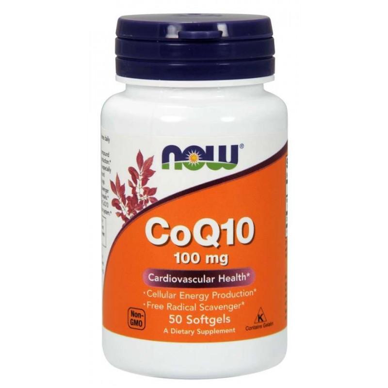 Now foods - CoQ10 50 kapsúl