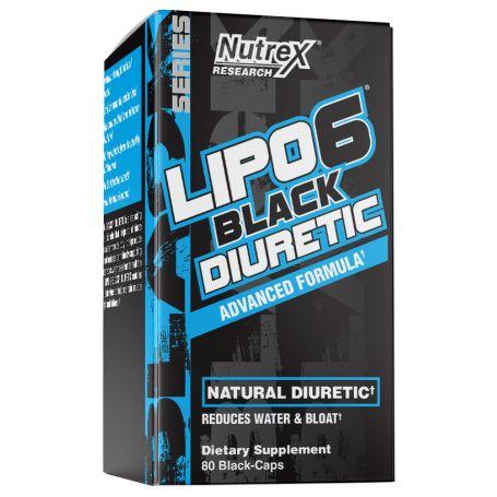 Nutrex - Lipo 6 Black DIURETIC 80 kapsúl
