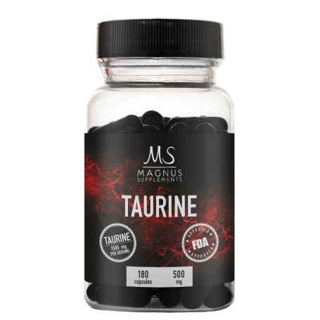 Magnus Supplements - Taurine 180 kapsúl 08/2019