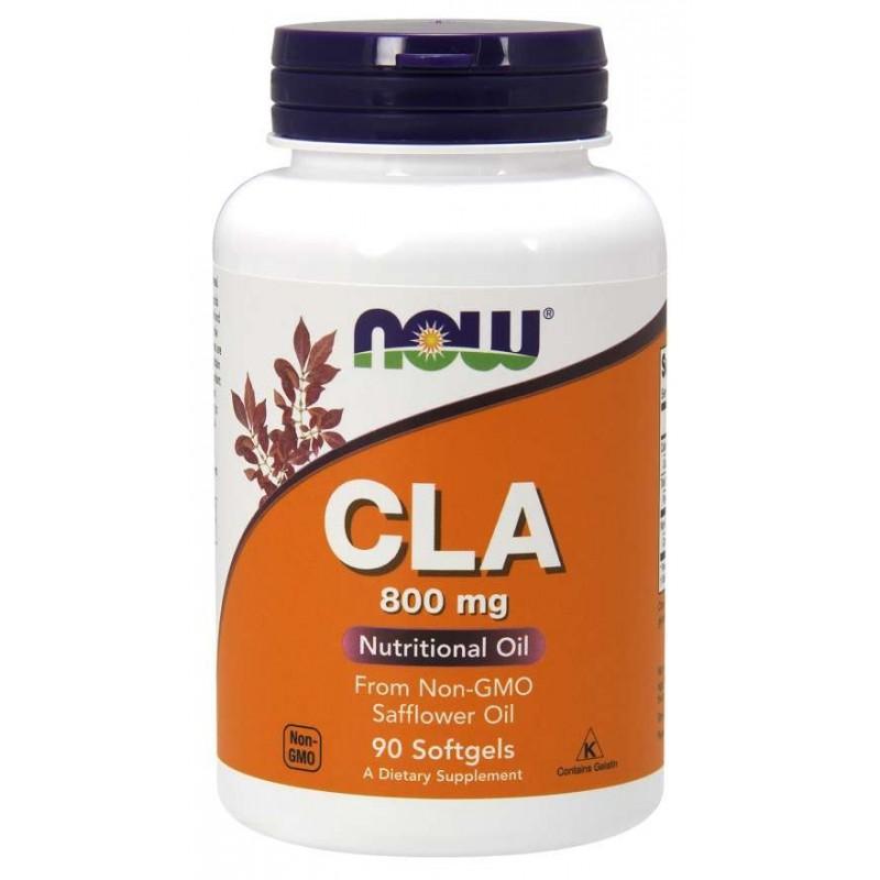 NOW Foods - CLA 800 mg Softgels 90 tabliet