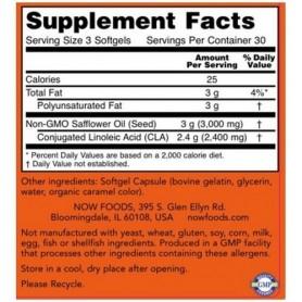 NOW Foods - CLA 800 mg Softgels 180 tabliet