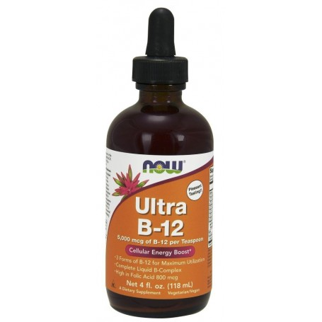 NOW Foods - Ultra B-12 Liquid