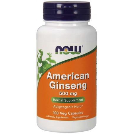 NOW Foods - American Ginseng 500 mg 100 kapsúl