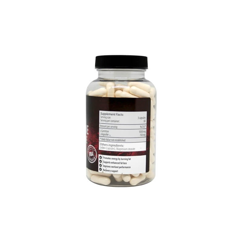 Magnus Supplements - L-Carnitin + L-Arginin 180 kapsúl