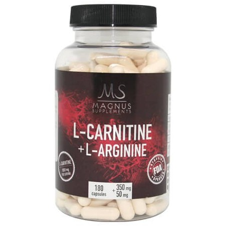 Magnus Supplements - L-Carnitin + L-Arginin 180 kapseln