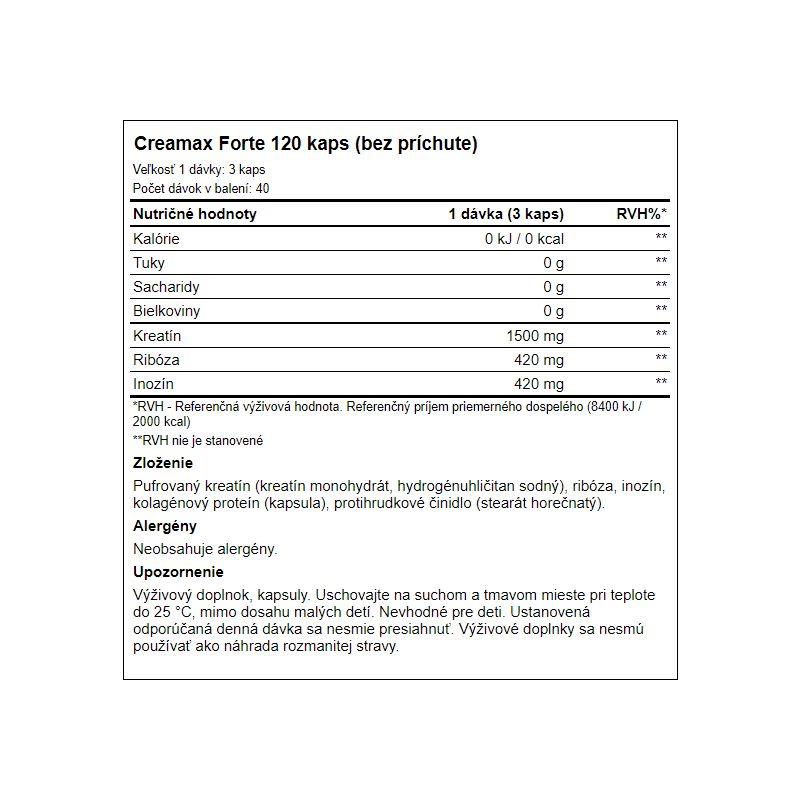 Aone - Creamax Forte 120 tabliet