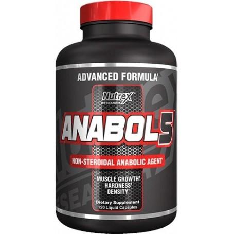 NUTREX Anabol 5 Black 120 tabliet