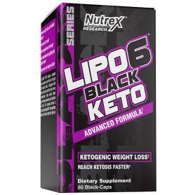 Nutrex - LIPO-6 BLACK KETO 60 kapsúl