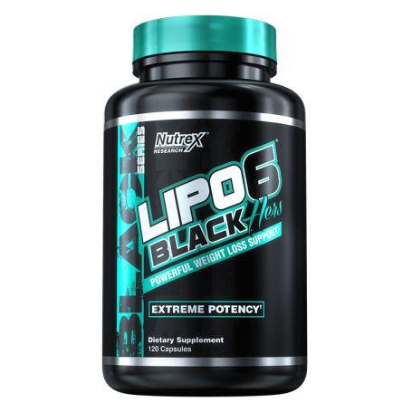 Nutrex - Lipo 6 Black Hers 120 kapseln