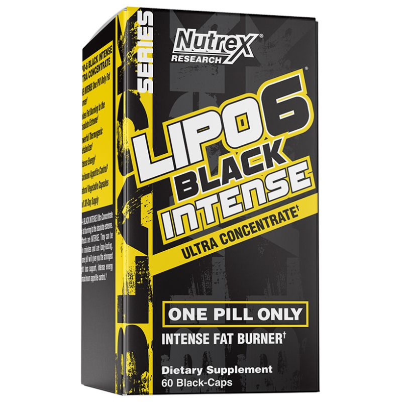 Nutrex - Lipo 6 Black UC Intense USA 60 kapsúl