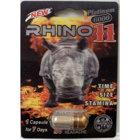 RHINO 11 - Platinum 6000