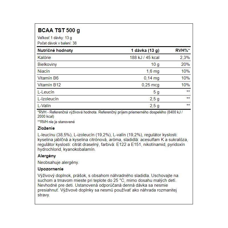 Peak Performance - BCAA TST 500 g