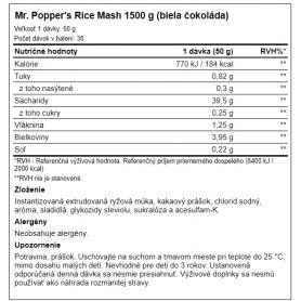 Amix Mr.Poppers Rice Mash 1500 g
