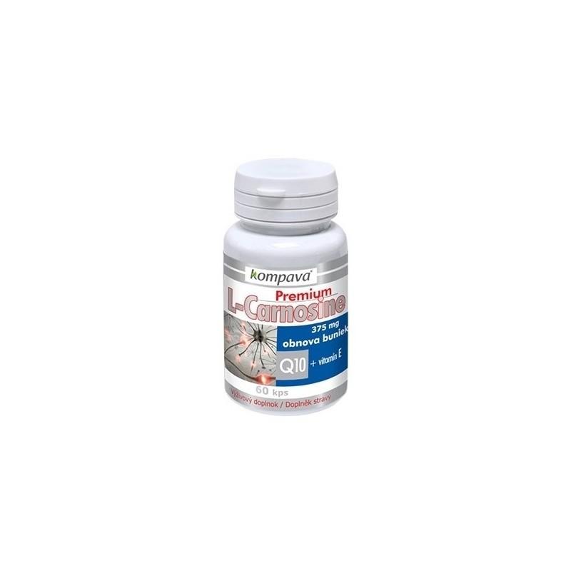Kompava Premium L-Carnosine 60 kapsúl
