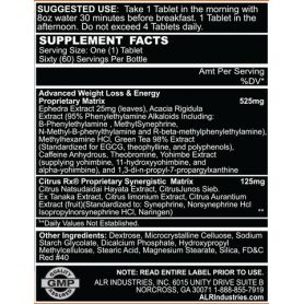 ALR Industries - Viper Hyperdrive® 5.0+ DMAA 60 tabliet
