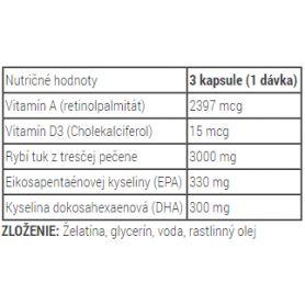 Metabolic Nutrition - Fish 3000 180 caps
