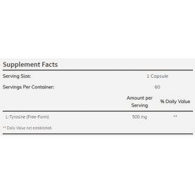 L-Tyrosine 500 mg 60 kapsúl