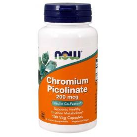 Chromium Picolinate 200 mcg 100 kapsúl