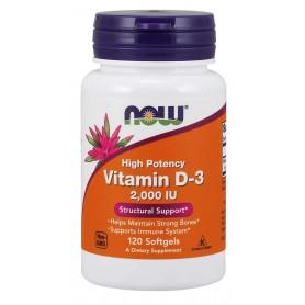 Vitamin D-3 2000 IU 120 kapseln