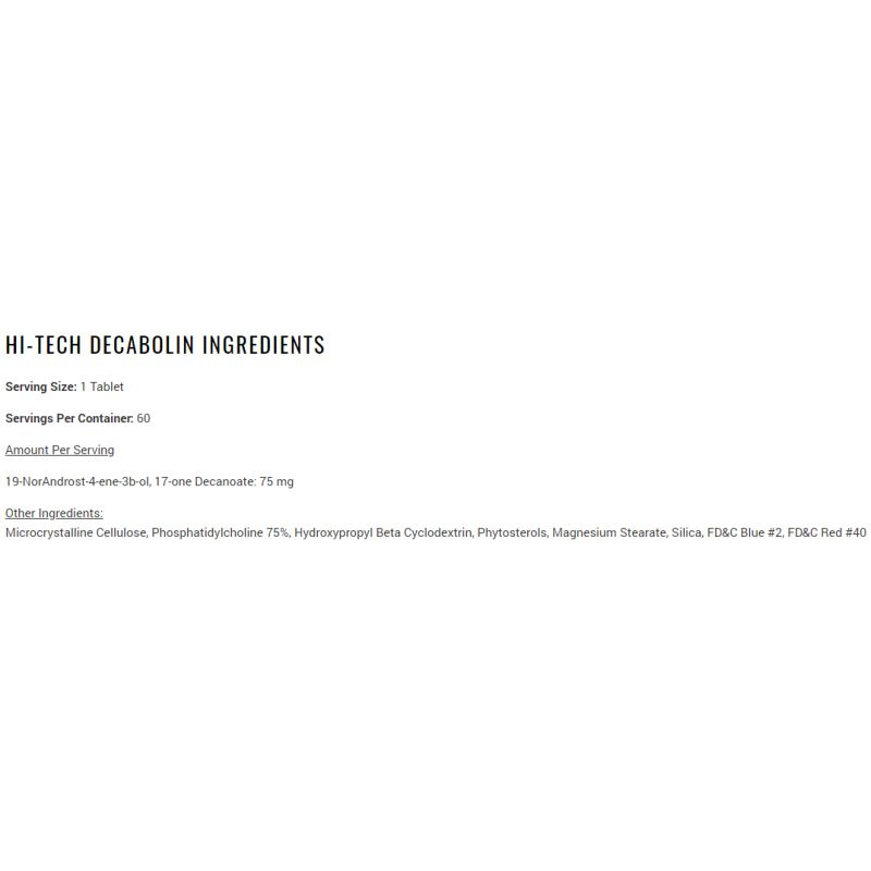 Hi-Tech Pharma Decabolin 60 TABLIET