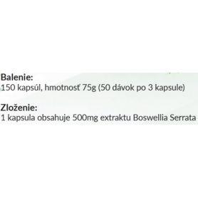 FIT4YOU BOSWELLIA 150 kapsúl