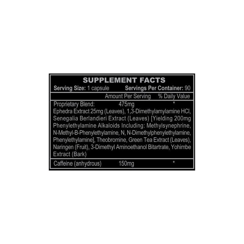 Hi - Tech Pharmaceuticals - Stimerex Hardcore dm-AA 90 tabliet