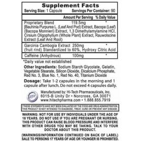 Hi-Tech Pharmaceuticals - Hydroxyelite dm-AA 60 tabliet