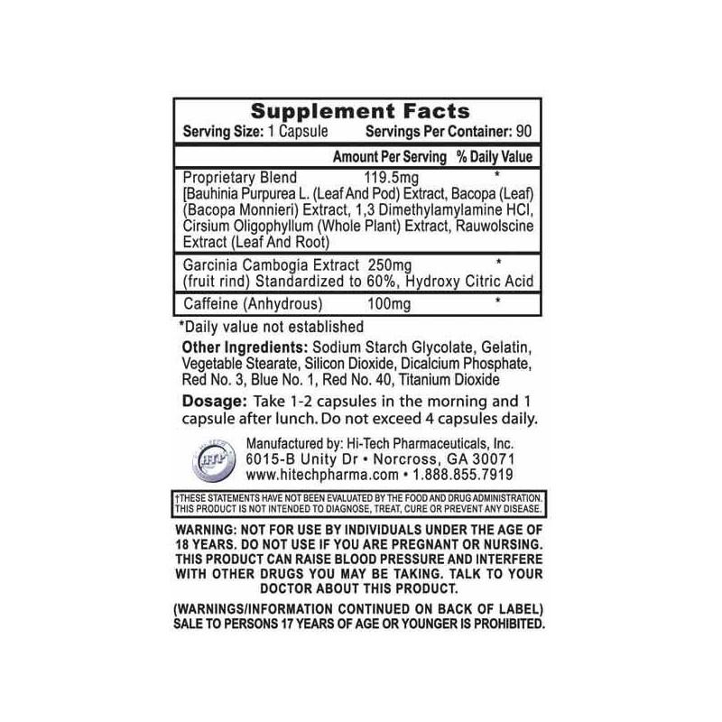 Hi-Tech Pharmaceuticals - Hydroxyelite dm-AA 90 tabliet