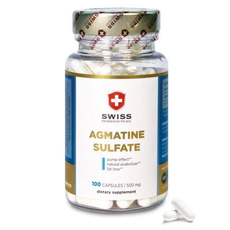 Swiss Pharmaceuticals Agmatine 100 tabliet