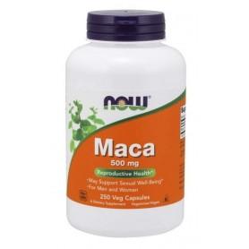 Now Maca 500 mg - 100 veg kapsúl
