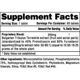 TRIBESTERONE Hi-Tech Pharmaceuticals